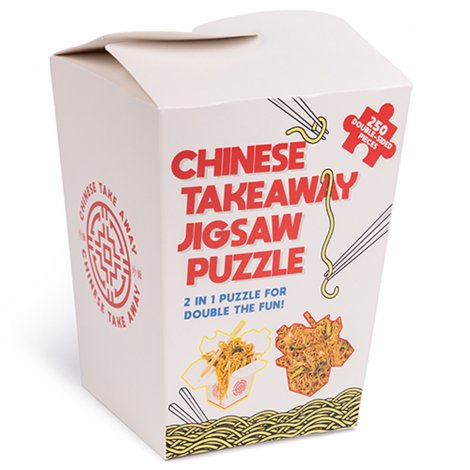 Hauptbild: Chinese Takeaway Double-Sided Jigsaw Puzzle