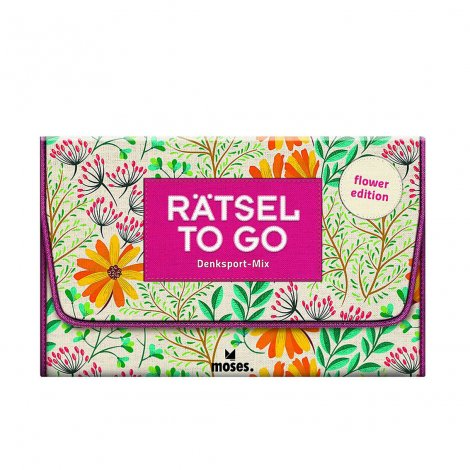 Hauptbild: Rätsel to go Denksport-Mix: flower edition