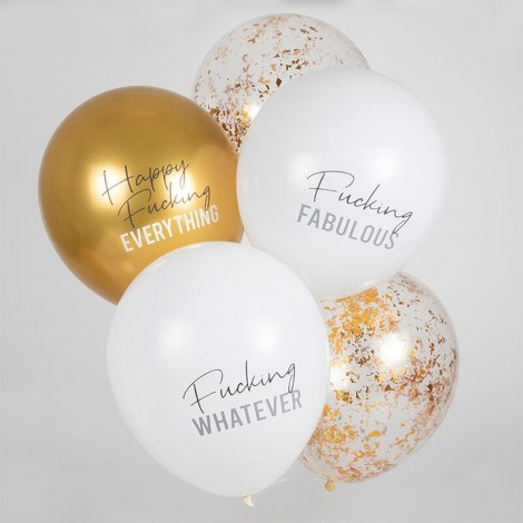 Hauptbild: Happy Fucking Everything Party Ballons