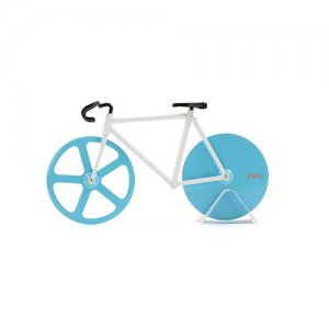 Fixie Pizza Cutter blau/weiss