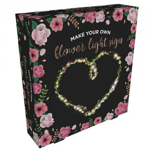 Make your own Flower light sign