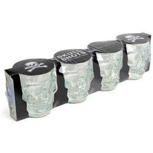 Skull Shot Glasses Shot Glas Totenkopf 4er Set