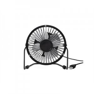 USB Desk Fan schwarz