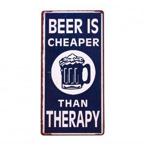 Email-Schild Beer Is Cheaper
