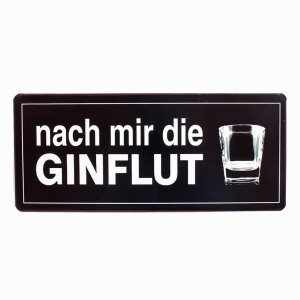Email Schild Ginflut