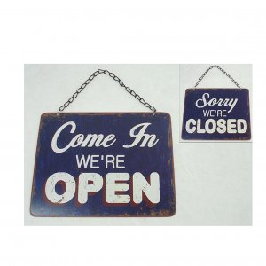 Email-Schild Open/Closed