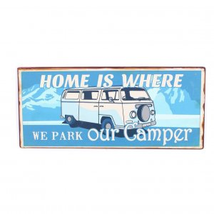 Email Schild Home is where we park our camper