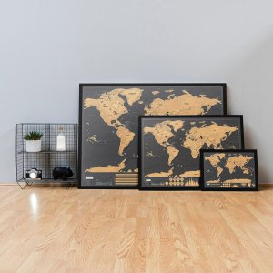 Scratch Map XL De luxe