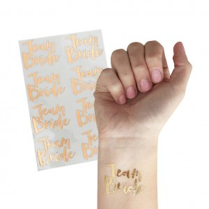 Tattooset gold Team Bride