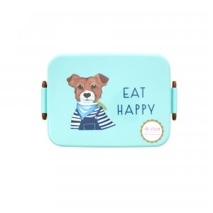 Lunch Box Farm Animal green