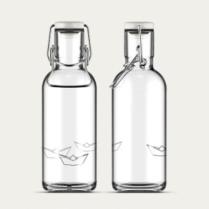 Trinkflasche Fill me Origami Boats 6dl