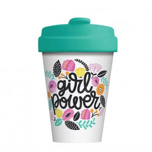 Eco Bamboo Cup Girl Power