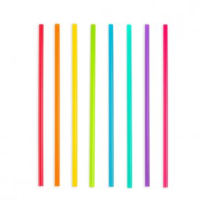Superbright reusable straws 24Stk XL