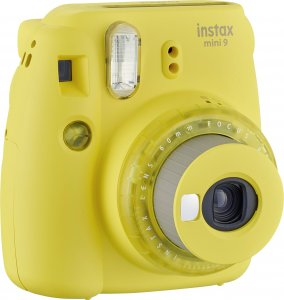 Instax mini 9 clear Yellow Limited Edition