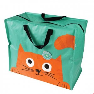 Jumbo Tasche Chester the Cat