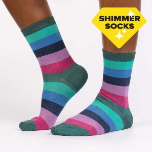 Damensocken Shimmer Socks Crown Jewels