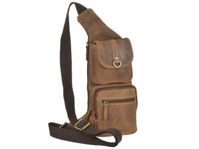 Greenburry - Leder Crossover Bag-2