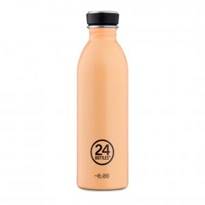 Trinkflasche 24 Bottles 500ml Peach orange