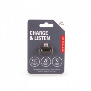 Charge & Listen Lightning splitter
