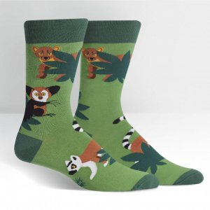 Herrensocken Madagascar Menagerie