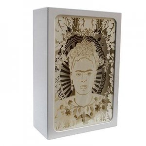 LED Shadow Box Frida Kahlo