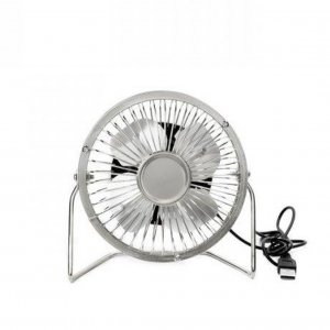 USB Desk Fan chrom