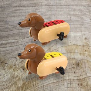 Wind Up Sausage Dog 2er Pack