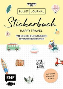 Stickerbuch, Happy Travel