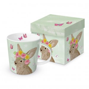 Tasse in Geschenkbox Easter Beauty green