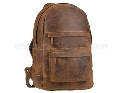 Greenburry  -Leder  Rucksack ZIP AROUND 1691-25