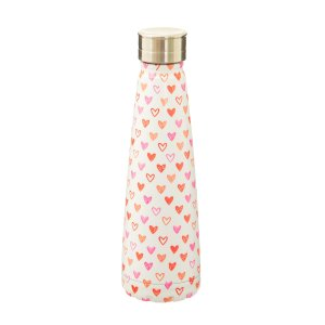Thermosflasche Love hearts