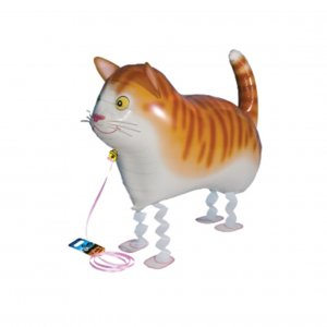 Air-Walkers Ballon Katze