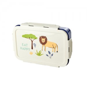 Lunch Box Dschungel blau