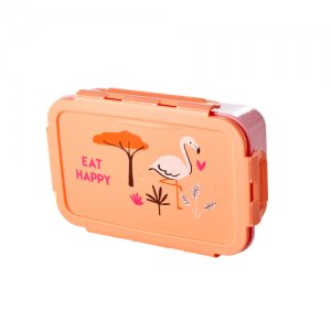 Lunch Box Dschungel rosa