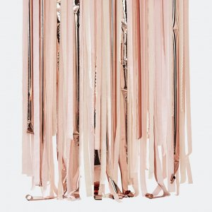 Backdrop Streamer pink/rosegold