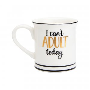 Espresso Tasse i can t adult today