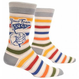 Herrensocken Your Team sucks
