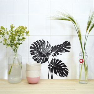Boubouki Fliesen Poster Monstera