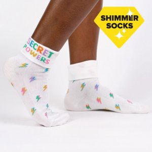 Damen Sneaker Socken Secret Powers