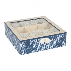 Teebeutel Box Marine blue