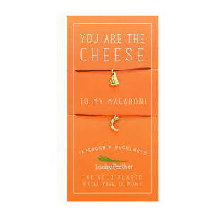 Halskette 2er Set you are the Cheese to my Macaroni