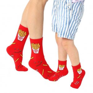 Teamsocken Vater/Mutter/Kind Large Fry/Small Fry