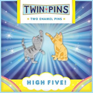Twin Pins High Five