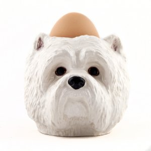 Eierbecher  Quail Design Westie