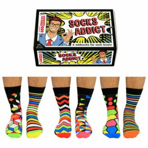 Odd Socks Addict 6er Set