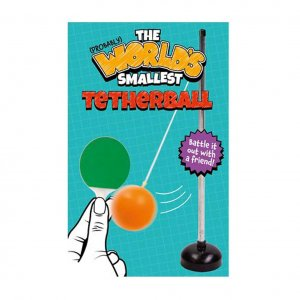 The Worlds s smallest Tetherball
