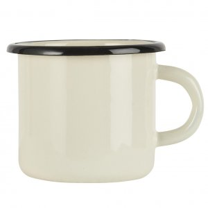 Emaille-Tasse IB Butter creme