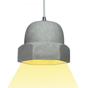 Zement Lampe Concrete Bolt