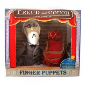 Fingerpuppe Freud & Couch