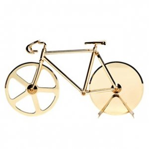 Fixie Pizza Cutter De Luxe Edition Gold